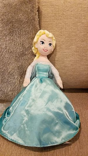 Reversible Anna and Elsa Doll for Sale in Lacey, WA