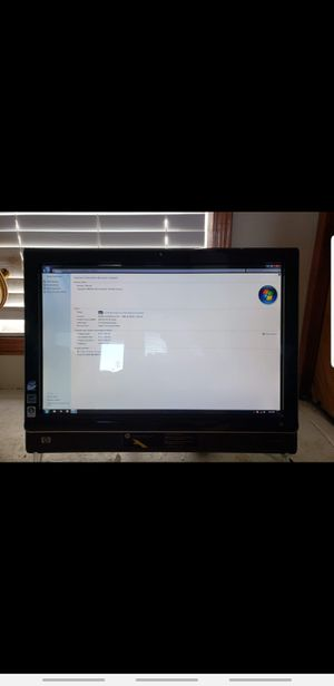 Hp touchsmart for Sale in Gilroy, CA