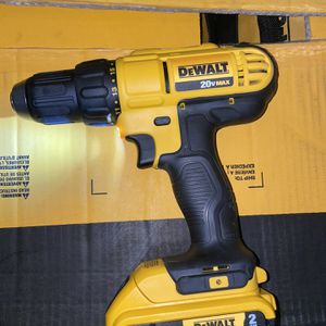dewalt 20v drill with 2.0 battery NO CHARGER for Sale in Las Vegas, NV