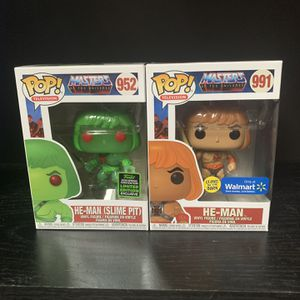 He-man Funko Pop Spring Convention And Walmart Exclusive for Sale in Manassas, VA