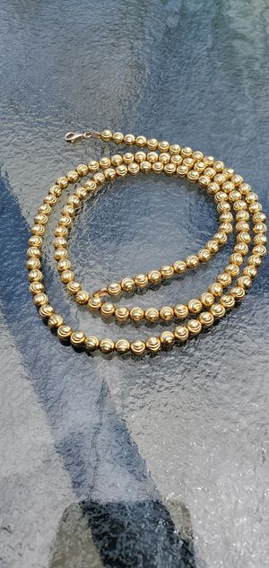 Gold solid 10kt chain, 26.7 grams ,,,24 inches for Sale in Oak Park, IL