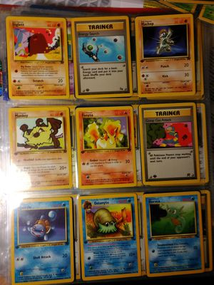 POKEMON ALL 1ST EDITION NON REPEATING for Sale in Las Vegas, NV