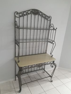 Marble top bakers rack for Sale in Lithia, FL