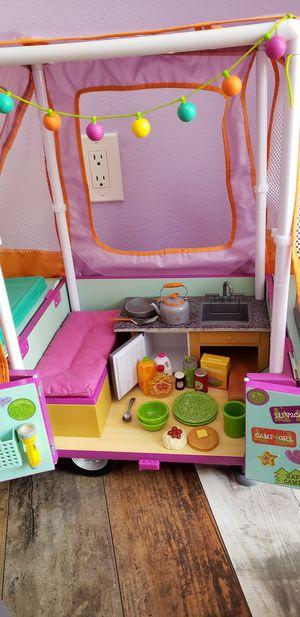 American girl doll camper set for Sale in Valrico, FL