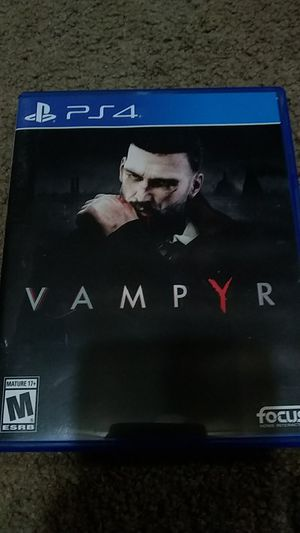 PlayStation 4 Vampyr for Sale in Millbrook, AL