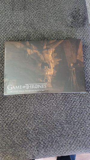 Game of Thrones Balerion the Black Dread 1,000-Piece Premium Puzzle for Sale in Palatine, IL
