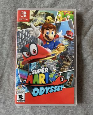 Super Mario Odyssey Nintendo Switch for Sale in Indian Trail, NC