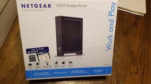 Netgear N300 WiFi Router for Sale in Topeka, KS
