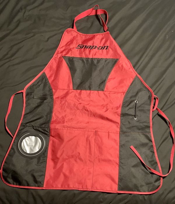 Snap On BBQ Grilling Apron W/ a Essentials Bottle Opener And Insulated Cuzyy
