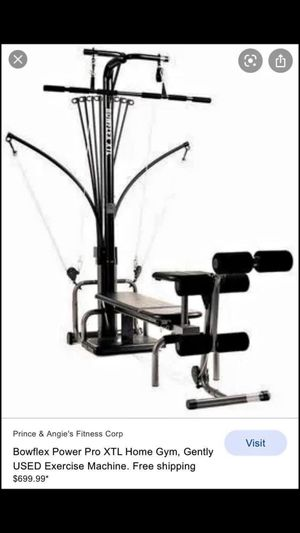 Bow flex Home gym for Sale in Clinton Township, MI