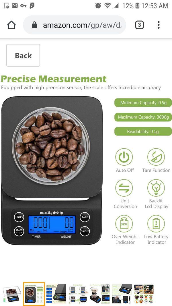 Digital Coffee Scale