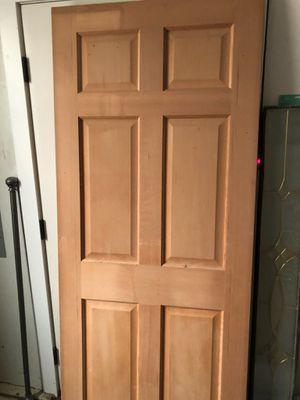 """Solid fir 32"""" wide interior door. $75 for Sale in Pasco, WA"""