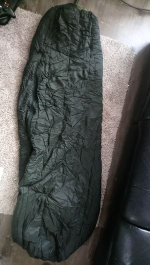 US Military Modular Sleeping Bag System, Slightly Used 4pc for Sale in Yonkers, NY