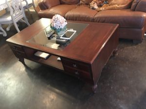 Coffee Table with Storage Drawers for Sale in Tampa, FL
