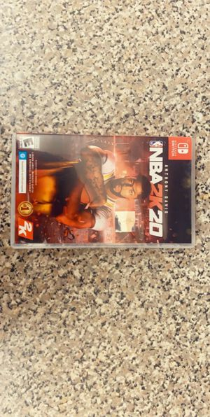 2k 20 basketball game to a Nintendo switch for Sale in West Palm Beach, FL