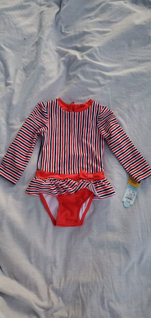Cat & jack bathing suit size 2T for Sale in Fresno, CA