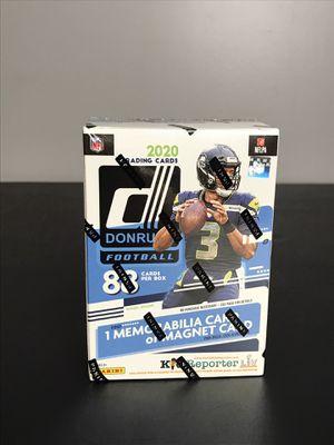2020 Panini Donruss NFL Football Blaster Box Blue Walmart Retail Cards SEALED for Sale in Buckhannon, WV