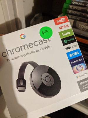 Google chromecast for Sale in Houston, TX