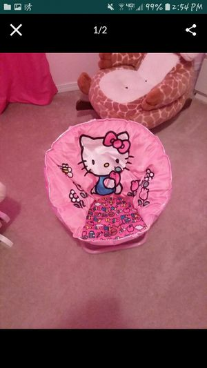 Hello kitty chair for Sale in Puyallup, WA