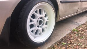 Rims 15x8 4x100 and 4x114 looking to trade for 16 or 17 for Sale in Lake Wales, FL
