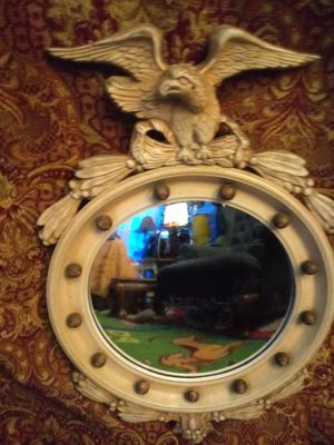 Antique mirror with Eagle for Sale in Houston, TX