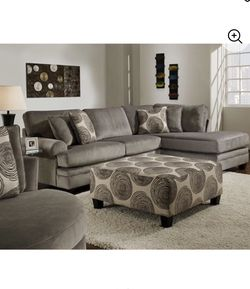 Grey Sofa, Chase, and High Table W/ Chairs Package Deal for Sale in Houston,  TX