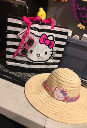 Hello kitty hat and bag set for Sale in Tampa, FL
