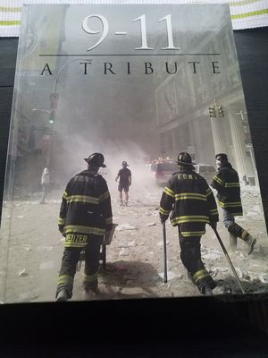 911 a TRIBUTE hardcover book for Sale in Glendora, CA