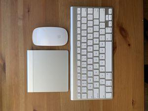 Apple Wireless Keyboard + Mouse + Trackpad for Sale in Phoenix, AZ