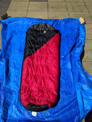 Coleman sleeping bag - mummy bag style, in good condition for Sale in Federal Way, WA