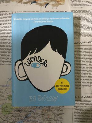 Wonder by R.J. Palacio Book Novel for Sale in San Diego, CA