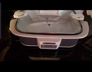 Crock Pot 6qt programmable crock pot for Sale in Thomasville, NC