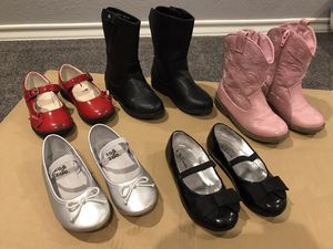 Girls dress shoes - size 9 med for Sale in Corpus Christi, TX