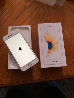 iPhone 6 s in brand new condition in box with cases and screen protector. Purchased new 3 months ago . For use on the Total Wireless Network for Sale in STUYVSNT PLZ, NY