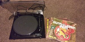 Ion Profile Pro USB Turntable with 4 records for Sale in Evans, CO