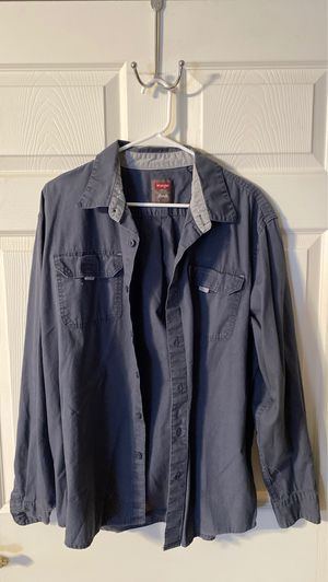 wrangler button down XL for Sale in Fort McDowell, AZ