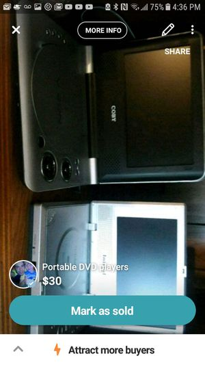 Two portable DVD players for Sale in Pittsburgh, PA