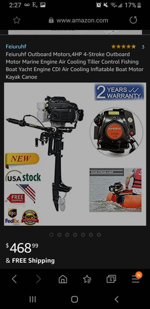NEW Outboard Motor for Sale in Hillcrest Heights, MD