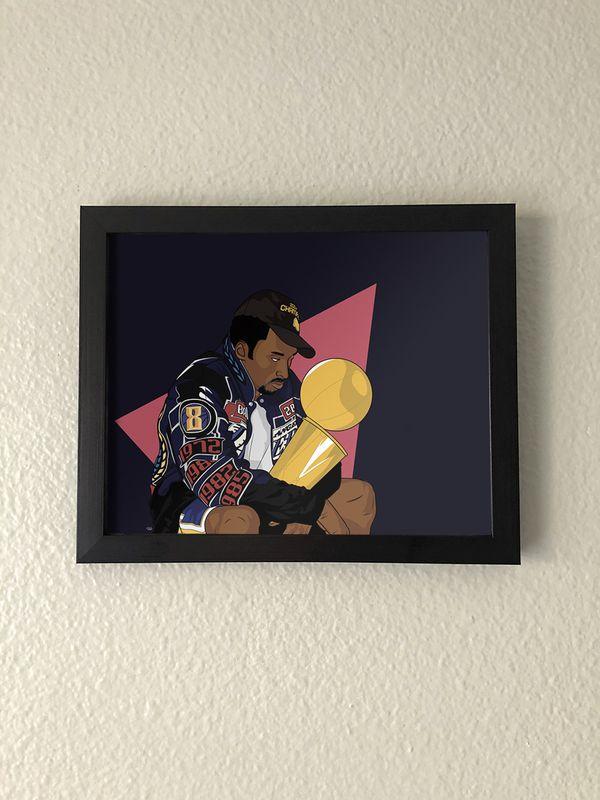 Kobe Bryant Championship Wall Art