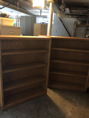 Levins Thornwood bookshelves 48 inches for Sale in Pittsburgh, PA