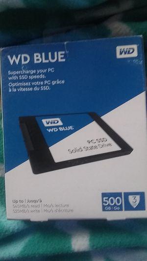 WD blue internal SSD 500gb for Sale in Santa Fe, NM