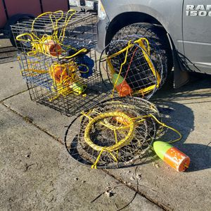 Crab Traps For Sale for Sale in Vancouver, WA