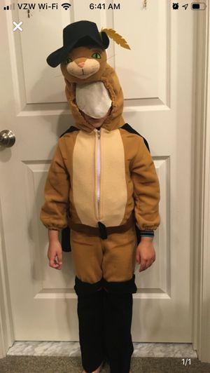 Very warm Halloween costume Puss in boots for Sale in Longmeadow, MA