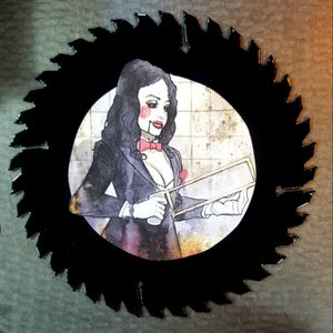 Decorative Saw Blade Female Jigsaw for Sale in Olympia, WA