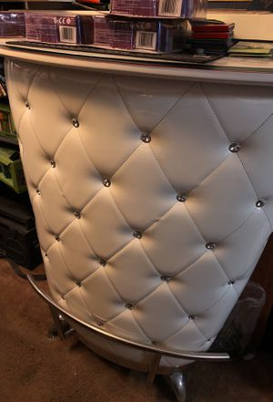 Glass patent leather bar for Sale in Cherry Hill, NJ