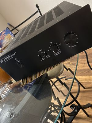 Guitammer buttkicker power amplifier subwoofer for Sale in Las Vegas, NV