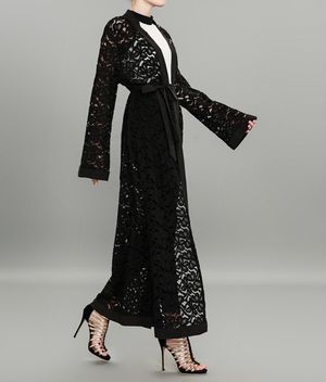 Used, All lace open abaya for Sale for sale  Potomac Falls, VA