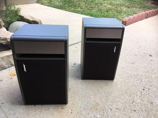 Bose 141 Bookshelf Speakers - pair