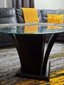 Coffee Table Glass Top, Black for Sale in Auburn,  WA