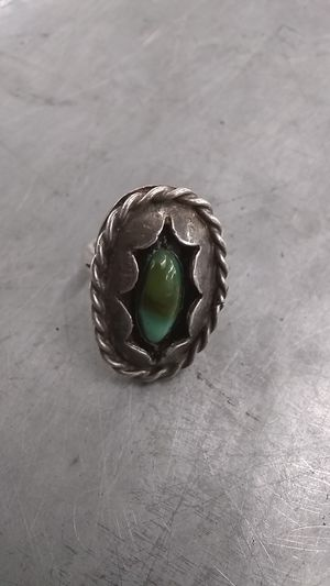 Turquoise in silver ring for Sale in Mesa, AZ